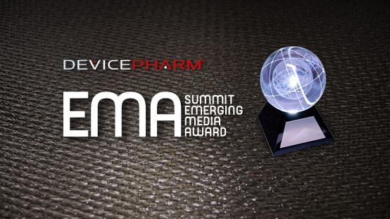 DevicePharm Takes Top International Emerging Media Award: 2009 Summit EMA