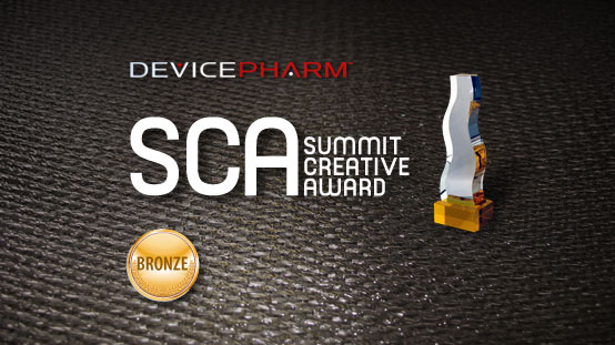 DevicPharm was selected as a winner in the 2011 Summit Creative Award® competition for its creative work for Abbott Medical Optics.