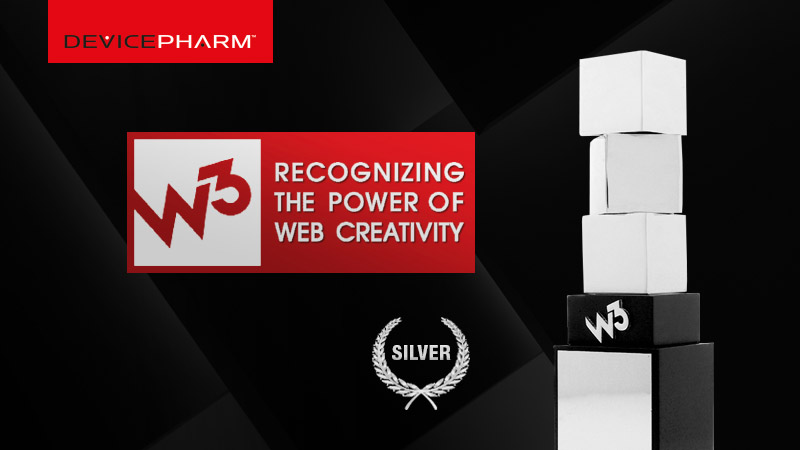 DevicePharm, ranked among the top 100 medical marketing agencies in the nation, has won a prestigious 2013 W3 Award