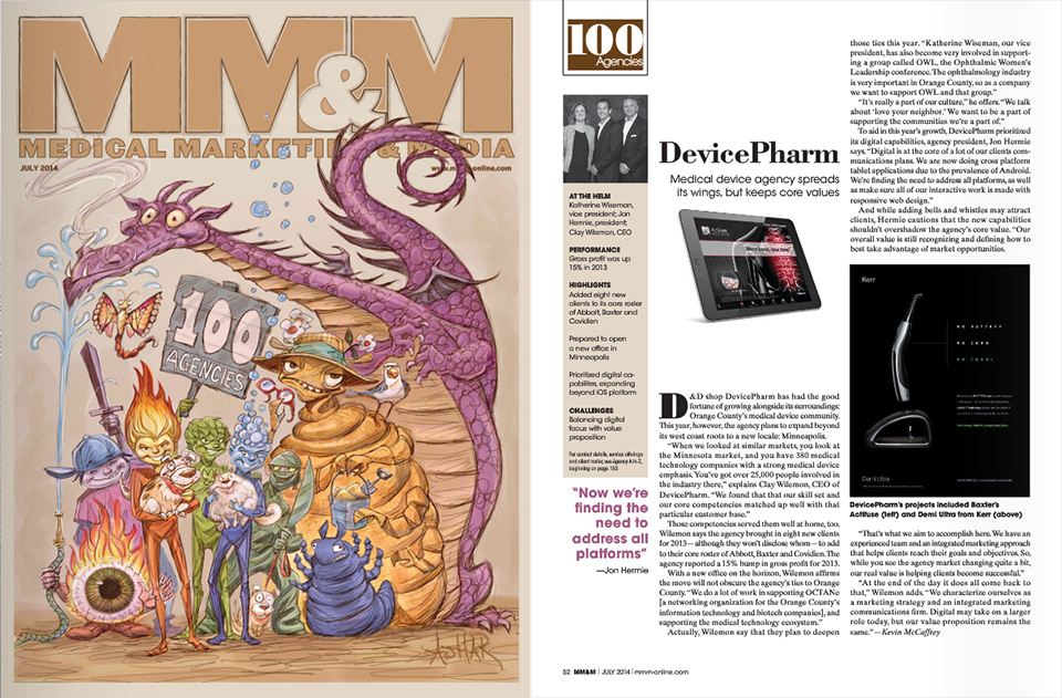 Medical Marketing & Media features DevicePharm