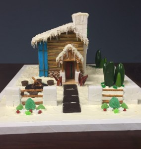 Andrea's Gingerbread Masterpiece