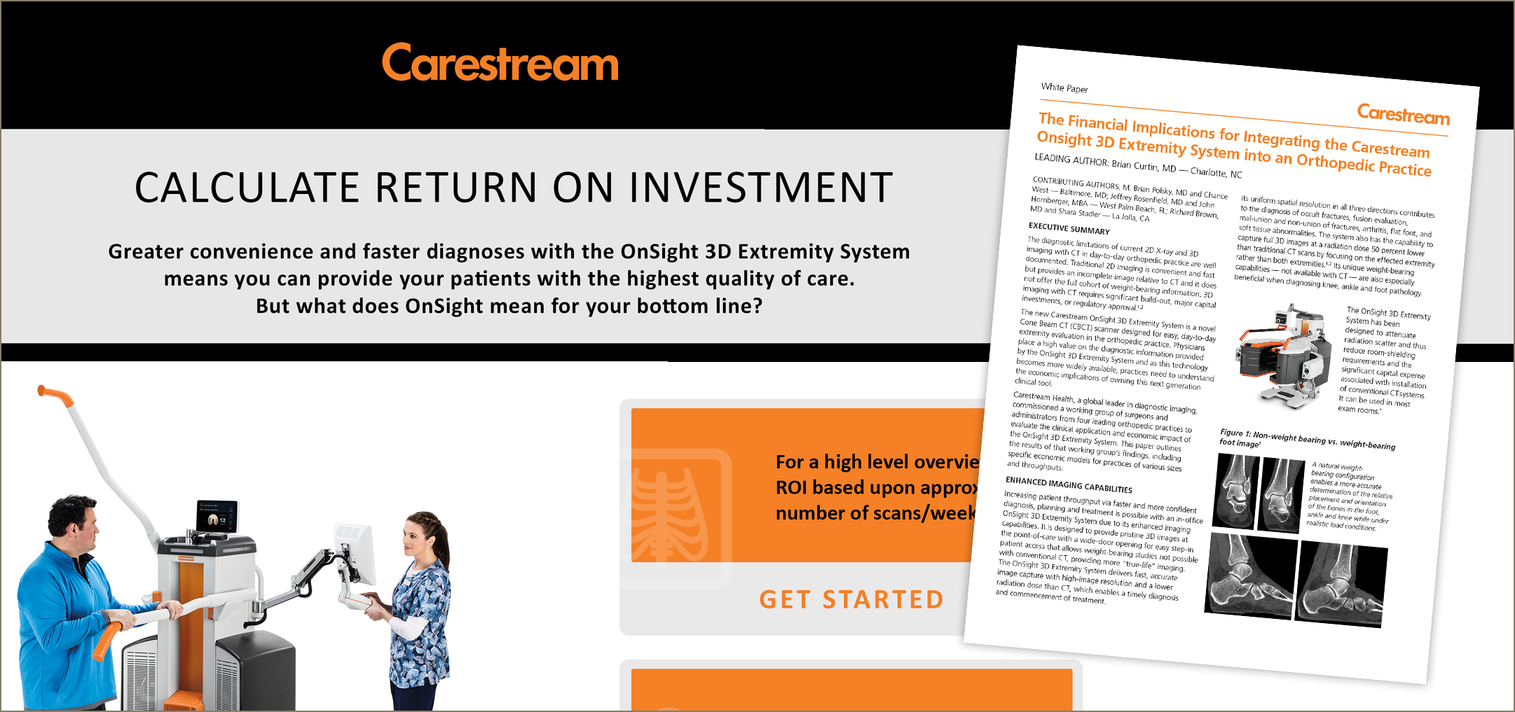 Carestream medical marketing and technology