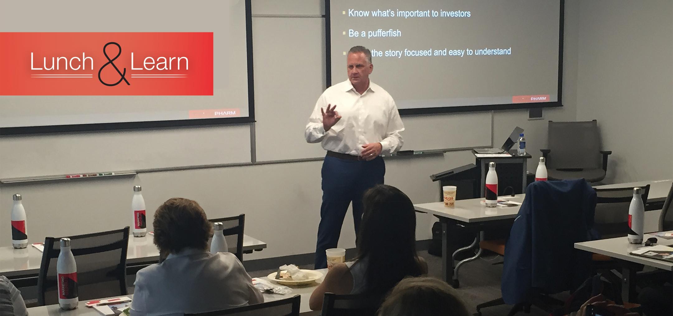 Lunch & Learn Presentation in Austin, TX